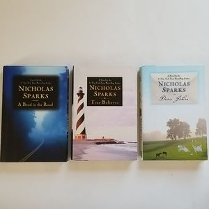 Nicholas Sparks Set of 3 Hardcover Books